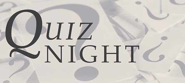 Quiz Night at the Pack Horse in Bury